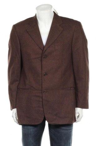 Мъжко сако Strellson, Размер L, Цвят Кафяв, 80% вълна, 20% кашмир, Цена 39,59лв.
