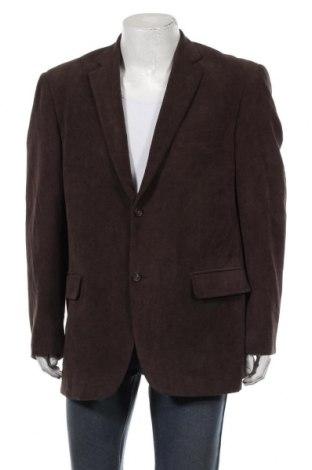 Мъжко сако Umberto Rosetti, Размер XL, Цвят Кафяв, 88% полиестер, 12% полиамид, Цена 6,98лв.