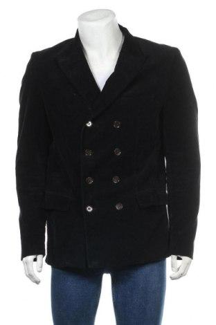 Мъжко сако Zara Man, Размер XL, Цвят Черен, Цена 29,30лв.