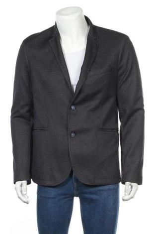 Мъжко сако Zara Man, Размер XL, Цвят Син, 54% полиестер, 46% вискоза, Цена 44,25лв.