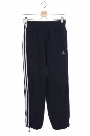 Dámské tepláky Adidas, Velikost XS, Barva Modrá, Polyester, Cena  455,00Kč