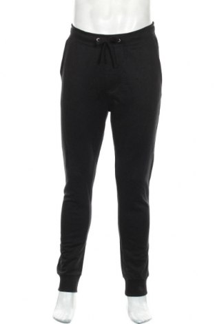 Мъжко спортно долнище Calvin Klein Jeans, Размер M, Цвят Черен, Памук, Цена 109,85лв.