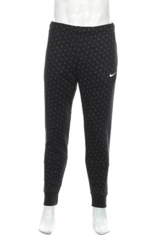 Мъжко спортно долнище Nike, Размер S, Цвят Черен, 80% памук, 20% полиестер, Цена 69,00лв.