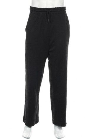 Мъжко спортно долнище Zara, Размер S, Цвят Черен, Памук, Цена 31,85лв.