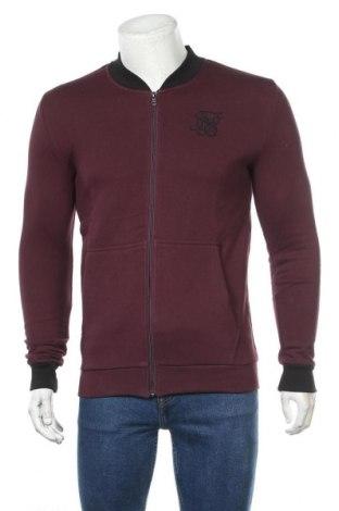 Мъжко спортно горнище SikSilk, Размер S, Цвят Червен, 70% памук, 30% полиестер, Цена 51,75лв.