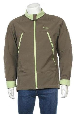 Мъжко спортно яке Bergans of Norway, Размер L, Цвят Зелен, 87% полиестер, 13% еластан, Цена 57,00лв.