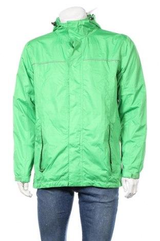 Мъжко спортно яке Crane, Размер M, Цвят Зелен, Полиестер, Цена 21,37лв.