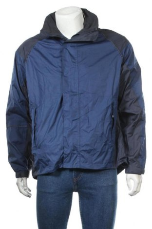 Мъжко спортно яке Crane, Размер M, Цвят Син, Полиестер, Цена 26,46лв.