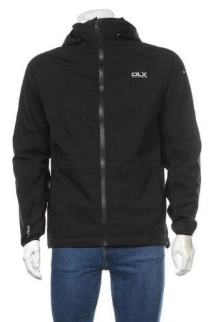 Мъжко спортно яке DLX by Trespass, Размер S, Цвят Черен, Полиестер, Цена 66,22лв.