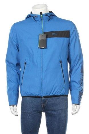 Мъжко спортно яке Hugo Boss, Размер M, Цвят Син, Полиестер, Цена 408,87лв.