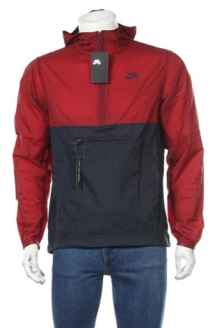 Pánská sportovní bunda  Nike, Velikost S, Barva Červená, Polyamide, Cena  1788,00Kč
