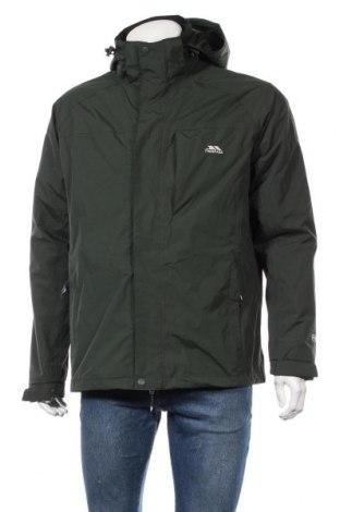 Мъжко спортно яке Trespass, Размер M, Цвят Зелен, Полиамид, Цена 93,24лв.