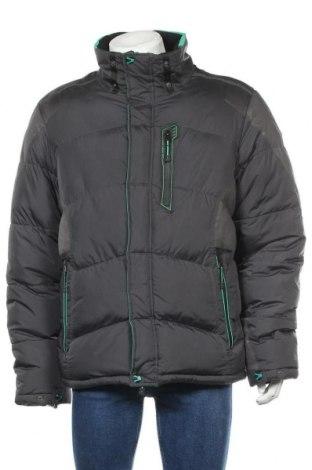 Ανδρικό μπουφάν, Μέγεθος XL, Χρώμα Γκρί, Πολυεστέρας, Τιμή 20,02€