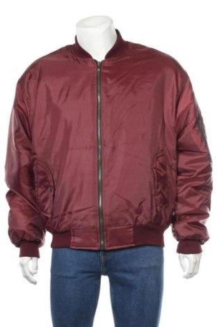Мъжко яке, Размер L, Цвят Червен, Полиестер, Цена 39,69лв.