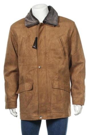 Мъжко яке, Размер XL, Цвят Бежов, Полиестер, Цена 60,74лв.