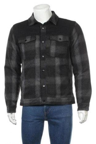 Мъжко яке, Размер M, Цвят Сив, Полиестер, Цена 13,23лв.
