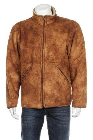 Мъжко яке Boss Orange, Размер L, Цвят Кафяв, 60% полиестер, 40% акрил, Цена 107,42лв.