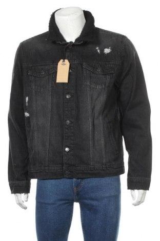 Мъжко яке Brooklyn Supply Co., Размер XL, Цвят Сив, Памук, Цена 67,24лв.