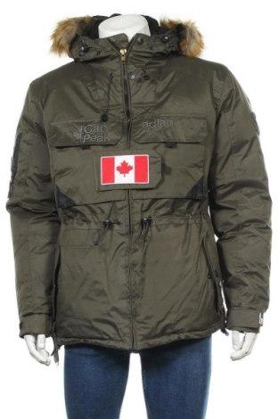 Ανδρικό μπουφάν Canadian Peak, Μέγεθος M, Χρώμα Πράσινο, Πολυεστέρας, Τιμή 107,86€