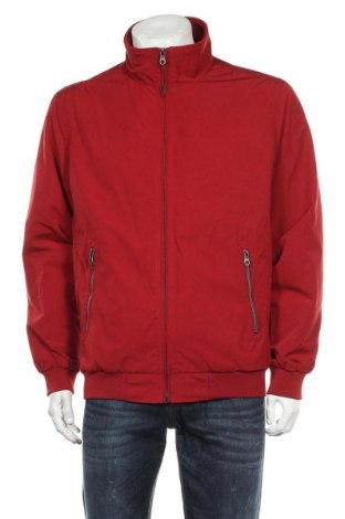 Мъжко яке Charles Vogele, Размер L, Цвят Червен, 82% полиестер, 18% памук, Цена 39,90лв.
