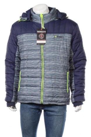 Мъжко яке Geographical Norway, Размер XXL, Цвят Син, Полиестер, Цена 239,25лв.
