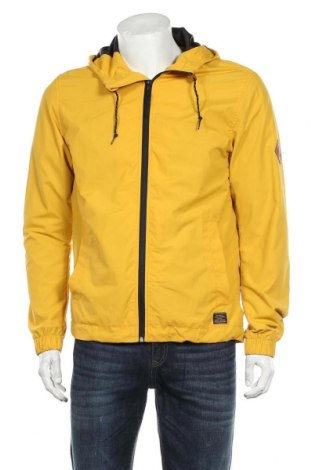 Мъжко яке H&M L.O.G.G., Размер S, Цвят Жълт, Полиестер, Цена 39,00лв.