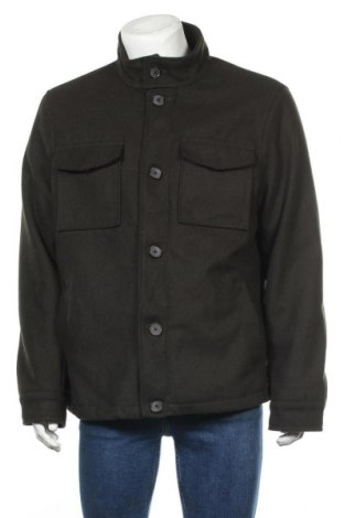 Мъжко яке Marks & Spencer, Размер XL, Цвят Зелен, 83% полиестер, 10% вълна, 7% други тъкани, Цена 41,00лв.