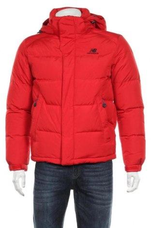 Мъжко яке New Balance, Размер M, Цвят Червен, Текстил, пух и пера, Цена 92,40лв.