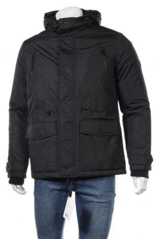 Мъжко яке Pier One, Размер S, Цвят Черен, Полиестер, Цена 111,75лв.