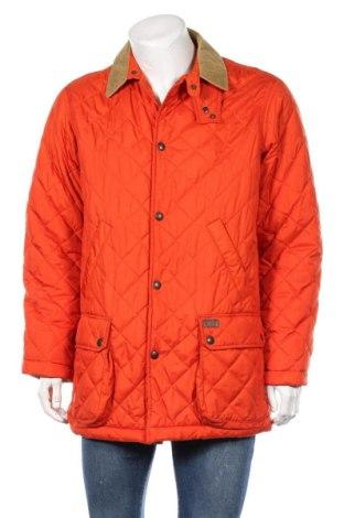 Pánská bunda  Polo By Ralph Lauren, Velikost M, Barva Oranžová, Polyester, Cena  1243,00Kč