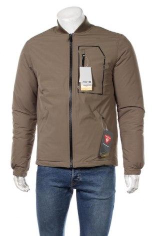 Мъжко яке Quiksilver, Размер S, Цвят Зелен, Полиестер, Цена 56,70лв.