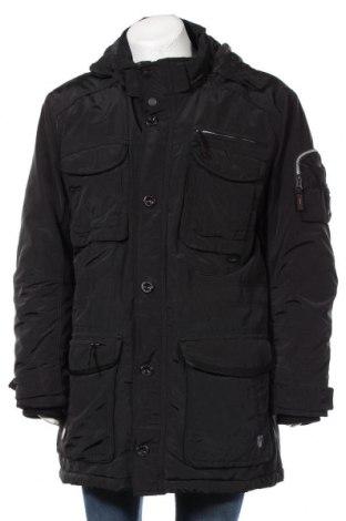 Ανδρικό μπουφάν S.Oliver, Μέγεθος XXL, Χρώμα Μαύρο, Πολυεστέρας, Τιμή 23,64€