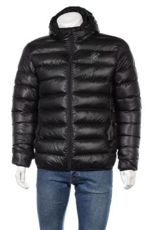 Ανδρικό μπουφάν SikSilk, Μέγεθος L, Χρώμα Μαύρο, Πολυεστέρας, Τιμή 41,57€