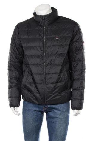 Pánská bunda  Tommy Hilfiger, Velikost L, Barva Černá, Polyamide, peří, Cena  1084,00Kč
