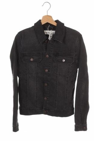 Мъжко яке Topman, Размер S, Цвят Сив, 99% памук, 1% еластан, Цена 53,76лв.