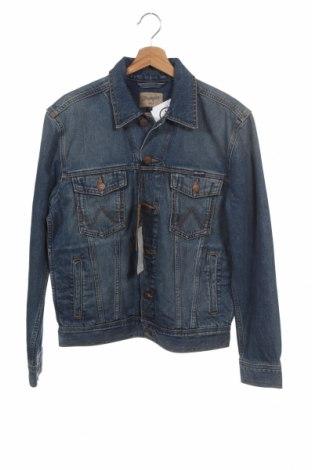 Pánská bunda  Wrangler, Velikost S, Barva Modrá, Bavlna, Cena  1340,00Kč