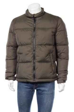 Ανδρικό μπουφάν Zara, Μέγεθος L, Χρώμα Πράσινο, 100% πολυεστέρας, Τιμή 29,77€