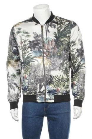 Мъжко яке Zara, Размер M, Цвят Многоцветен, Полиестер, Цена 20,58лв.