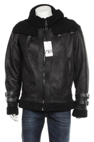Ανδρικό μπουφάν Zara, Μέγεθος XL, Χρώμα Μαύρο, Πολυεστέρας, Τιμή 53,74€