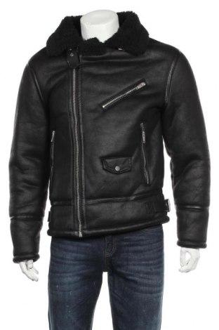 Ανδρικό μπουφάν Zara, Μέγεθος L, Χρώμα Μαύρο, Πολυεστέρας, Τιμή 46,01€