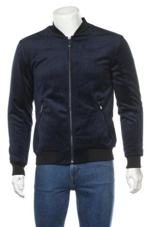 Pánská bunda  Zara Man, Velikost M, Barva Modrá, Cena  717,00Kč
