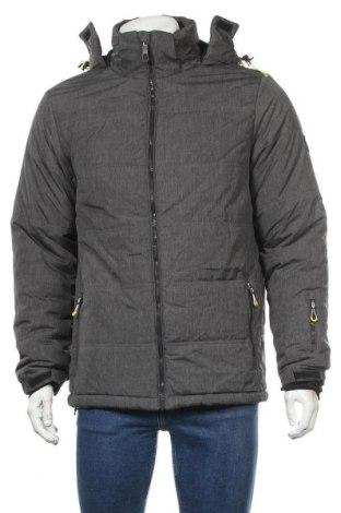 Мъжко яке за зимни спортове Rodeo, Размер L, Цвят Сив, Полиестер, Цена 65,10лв.