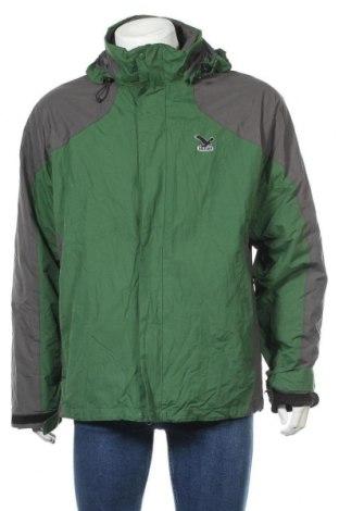 Мъжко яке за зимни спортове Salewa, Размер L, Цвят Зелен, Полиестер, Цена 114,45лв.