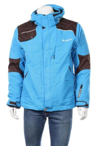 Мъжко яке за зимни спортове Ziener, Размер L, Цвят Син, Полиестер, Цена 67,20лв.