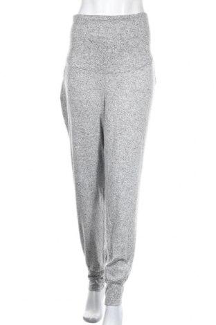 Pantaloni pentru gravide H&M Mama, Mărime XL, Culoare Gri, 76% viscoză, 21% poliester, 3% elastan, Preț 106,11 Lei