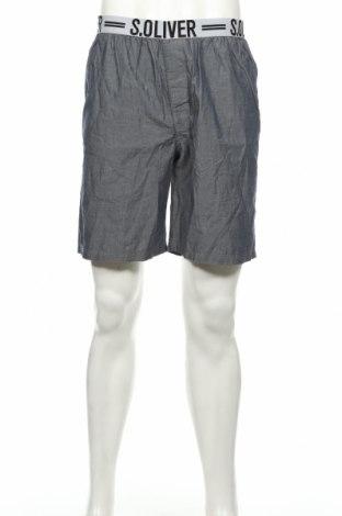 Πιτζάμες S.Oliver, Μέγεθος M, Χρώμα Μπλέ, Βαμβάκι, Τιμή 12,37€