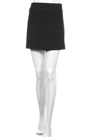Пола - панталон Zara, Размер XL, Цвят Черен, 96% полиестер, 4% еластан, Цена 36,75лв.