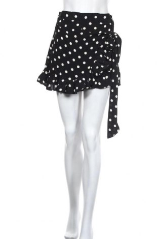 Пола - панталон Zara, Размер S, Цвят Черен, Вискоза, Цена 34,50лв.