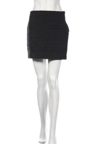 Пола H&M, Размер M, Цвят Черен, 78% памук, 22% полиестер, Цена 26,25лв.