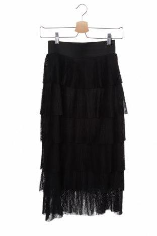 Φούστα H&M, Μέγεθος XS, Χρώμα Μαύρο, Πολυεστέρας, Τιμή 14,84€